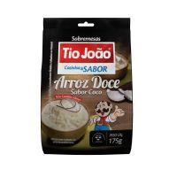 Tio João Cozinha & Sabor Arroz Doce Sabor Coco 175g - caixa com 12 unidades de 175g
