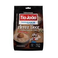 Tio João Cozinha & Sabor Arroz Doce Sabor Doce de Leite 175g - caixa com 12 unidades de 175g