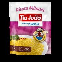 Tio João Cozinha & Sabor Risoto Milanês 175g - caixa com 12 unidades de 175g