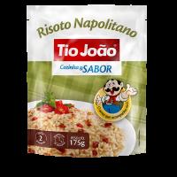 Tio João Cozinha & Sabor Risoto Napolitano 175g - caixa com 12 unidades de 175g