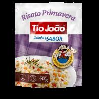 Tio João Cozinha & Sabor Risoto Primavera 175g - caixa com 12 unidades de 175g