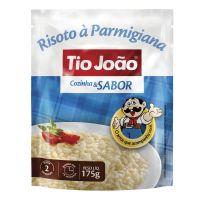 Tio João Cozinha & Sabor Risoto à Parmigiana 175g - caixa com 12 unidades de 175g