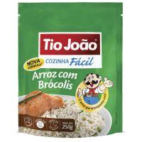 Tio João Cozinha Fácil Arroz com Brócolis 250g - caixa com 12 unidades de 250g