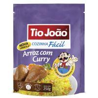 Tio João Cozinha Fácil Arroz com Curry 250g - caixa com 12 unidades de 250g