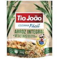 Tio João Cozinha Fácil Integral + Vegetais - 200g - caixa com 12 unidades de 200g