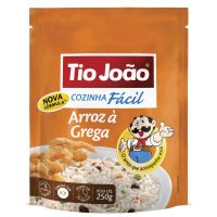 Tio João Cozinha Fácil Arroz à Grega 250g - caixa com 12 unidades de 250g