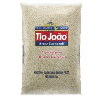 Tio João Variedades Mundiais Institucional Carnaroli  1kg - fardo com 10 unidades de 1kg