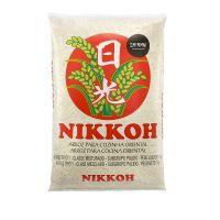 Arroz Nikkoh Curto 1kg - fardo com 30 unidades de 1kg