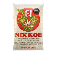 Arroz Nikkoh Curto 5kg - fardo com 6 unidades de 5kg