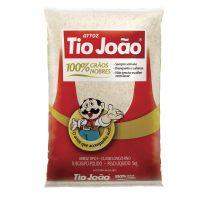 Arroz Tio João 100% Grãos Nobres 5kg - fardo com 6 unidades de 5kg