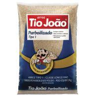Arroz Tio João Parboilizado 2kg - fardo com 15 unidades de 2kg
