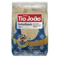 Arroz Tio João Parboilizado Boil In Bag 1kg - fardo com 20 unidades de 1kg