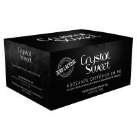 Adoçante Dietético Em Pó Crystal Sweet Sucralose Institucional 250g - caixa com 4 unidades de 250g
