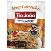 Tio João Cozinha & Sabor Arroz Carreteiro 175g - caixa com 12 unidades de 175g