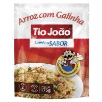 Tio João Cozinha & Sabor Arroz com Galinha  175g - caixa com 12 unidades de 175g