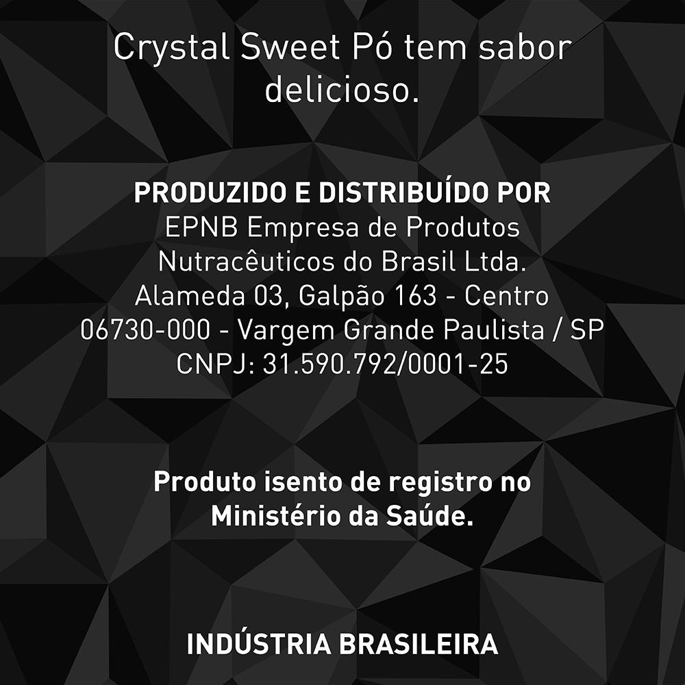 Ado�ante Diet�tico em P� Crystal Sweet Sucralose 25g - caixa com 24 unidades de 25g